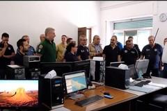 Servizio anti incendio boschivo sul Gargano: presenti anche i Volontari Federiciani di Andria