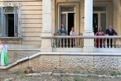 Il Centro Zenith gira uno spot con Sabino Matera nella storica villa in centro