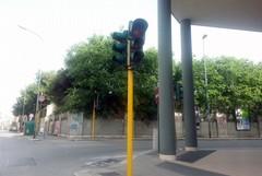 Semafori ad Andria tra guasti, atti vandalici e lavori