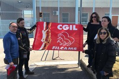Carcere di Trani: sit-in degli addetti del servizio mensa