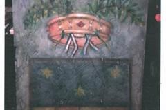 L'artista Labianca dona un'opera, realizzata con tecnica ad olio su pietra, alla provincia Bat