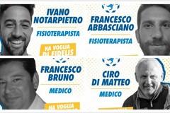 Fidelis, ecco lo staff medico: Di Matteo e Bruno affiancati dai fisioterapisti Notarpietro ed Abbasciano
