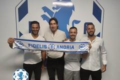 Fidelis, ecco lo staff tecnico: D'Alterio, Petrelli e Ciciriello con mister Panarelli
