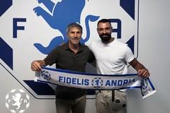 Esperienza e qualità a centrocampo per la Fidelis Andria: arriva Stefano Manzo