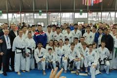 Martial arts games, tre ori per il team Ardito di Andria