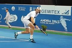 Tennis Atp Andria, subito fuori la testa di serie n. 1