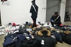 Fermato su via Andria, a Trani con un carico di merce contraffatta