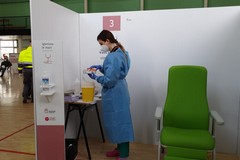 Sono 1752 i soggetti vaccinati oggi alle 18 presso i 6 hub della Asl Bt