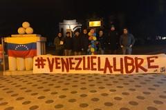 """""""Venezuela libero"""": con un sit-in anche Andria vicina alla ragioni della democrazia e della libertà"""