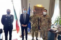 Il Gen. Tota in Prefettura: visita per esaminare la situazione della provincia