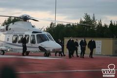 Il ministro Boccia visita l'ospedale da campo militare di Barletta