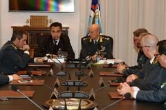 Il procuratore Di Maio in visita al Comando regionale delle Fiamme Gialle