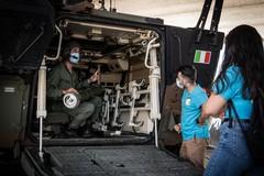 A lezione con l'Esercito Italiano
