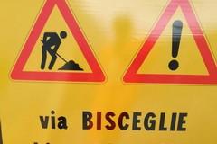 Via Bisceglie interdetta al traffico da domani sino al 20 marzo