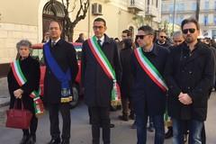 Giorgino a Trani per la marcia della legalità