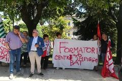 Formatori centri per l'impiego della Bat, dopo sit-in ad Andria braccia incrociate il 20 giugno