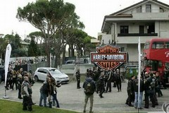 Le mitiche Harley Davidson a Castel del Monte per un raduno regionale