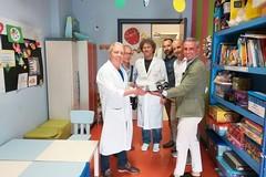 """Alla pediatria del """"L. Bonomo"""" un dono da parte delle famiglie dei bambini leucemici"""