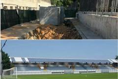 Stop agli allagamenti in via Bisceglie e nuova apertura dello stadio Sant'Angelo dei Ricchi