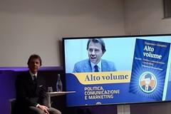 """Francesco Giorgino torna a presentare il suo ultimo libro """"Alto volume"""""""
