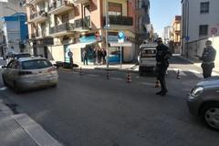 """Incidente stradale davanti all'ospedale """"L. Bonomo"""" di Andria"""