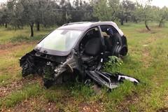 Ancora auto cannibalizzate rinvenute sulla Murgia