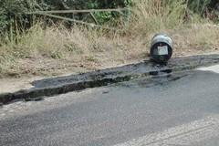 Sversamento di olio esausto nella zona Papparicotta di Andria
