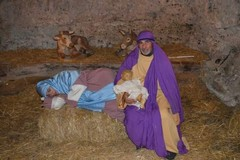 Nella valle di Santa Margherita alla Madonna d'Andria rivive il presepe con Maria che riposa