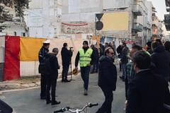 Crollo di via Pisani, avviate le operazioni di rimozione delle macerie