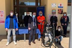 Coronavirus, l'U.N.I.T.A.L.S.I. di Andria dona al 118 un macchinario per la sanificazione