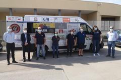 Un dono all'Unitalsi di Andria: veicolo attrezzato per il trasporto di disabili e persone con difficoltà