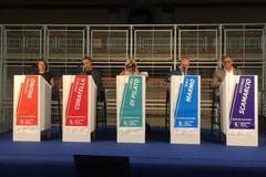I cinque candidati sindaco di Andria a confronto in un dibattito all'americana