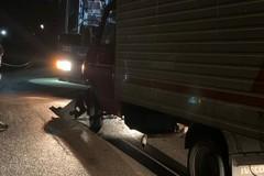 Due mezzi pesanti si scontrano sulla strada che da Andria porta al SS. Salvatore