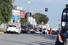 Incidente in via Barletta, investito ad Andria operatore della Sangalli