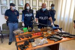 Ex giudice De Benedictis, ecco le foto delle altre armi ritrovate ad Andria
