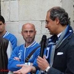 Fidelis ricevuta e premiata dal sindaco Giorgino: «Doveroso ringraziare questa società»