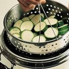 La cottura a vapore delle verdure