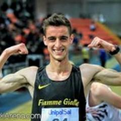Francesco Fortunato trionfa a Tunisi: è primo ai Campionati del Mediterraneo U23