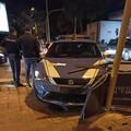 Incidente stradale per volante della Polizia di Stato, causa semaforo spento
