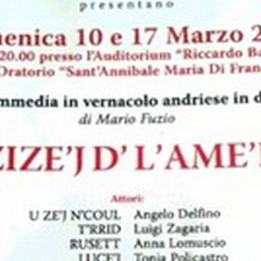 «U' Zize'j d' l'Ame'r'k»: una commedia in vernacolo andriese