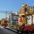 Lavori interramento ferrovia: cambia la viabilità in via Tintoretto