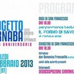 «Progetto Barnaba: dare credito alla speranza». Il decimo anniversario