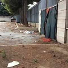 Vandali e degrado all'ex Scuola Jannuzzi: la denuncia dei residenti