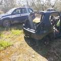 Scocche di auto rubate rinvenute nei giorni scorsi nelle campagne di Andria