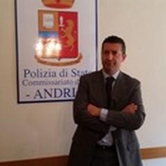Gianpaolo Patruno al lavoro come Primo Dirigente del Commissariato di Andria