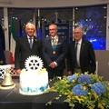 Rotary Club Trani: passaggio del martelletto da Angela Tannoia all'andriese Pasquale Vilella