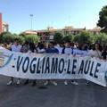 Lavori fermi al Nuzzi: 1014 giorni di ritardo e 6 mesi di silenzio; gli studenti manifestano per le strade di Andria