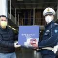 Coronavirus: proseguono le consegne di mascherine al Comando della Polizia Locale di Andria