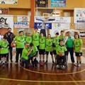 Sbanca anche al Palasport di Andria il primo torneo regionale di Baskin