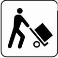 Ad Andria carico e scarico merci nel caos